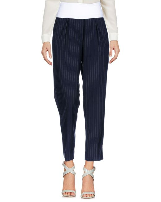 Peserico - Blue Casual Pants - Lyst
