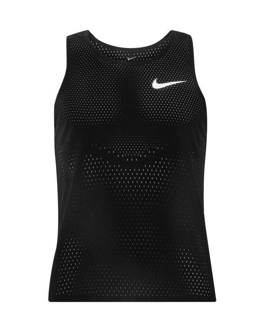 Canotta di Nike in Black da Uomo