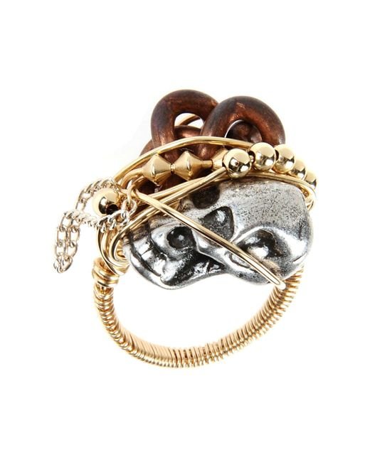 First People First - Metallic Rings - Lyst
