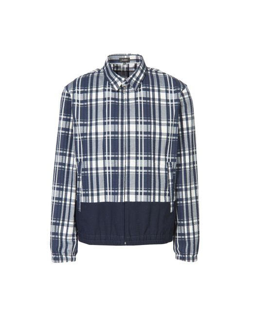 Jil Sander - Blue Jacket for Men - Lyst