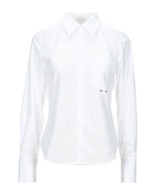 Neil Barrett Camisa de mujer de color blanco