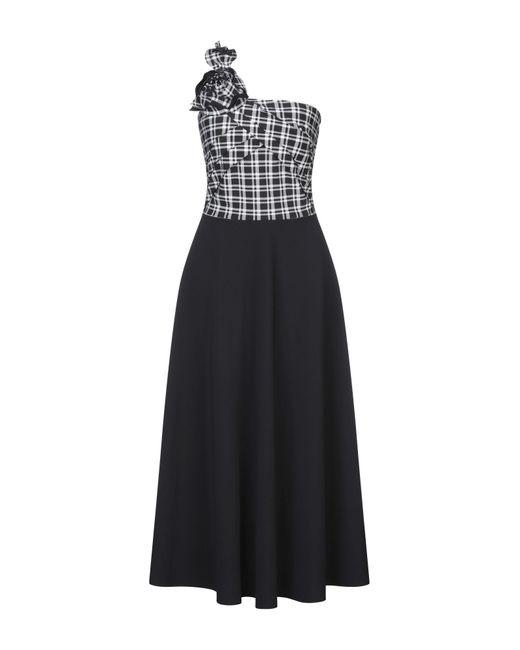 La Petite Robe Di Chiara Boni Black Langes Kleid
