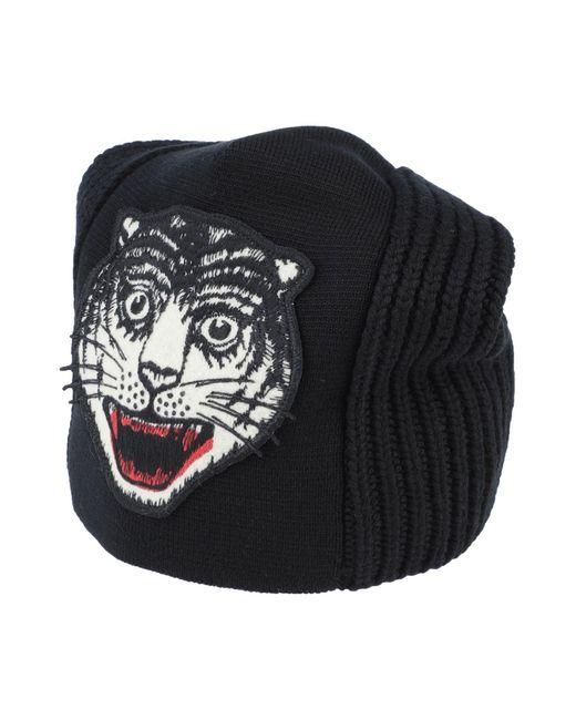 Gucci Black Hat for men