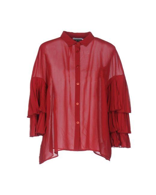 Kor@kor   Red Shirt   Lyst