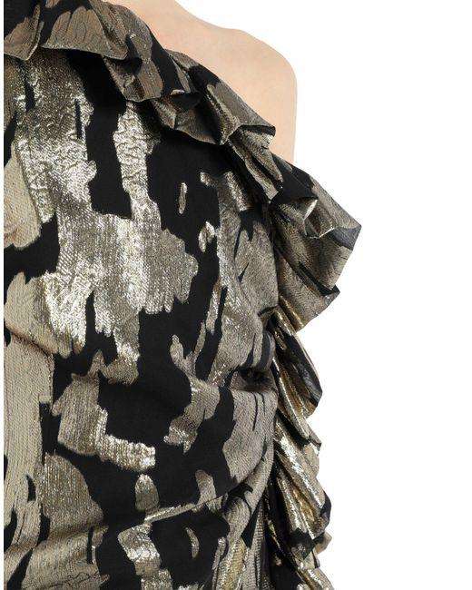 Robe aux genoux The Attico en coloris Black