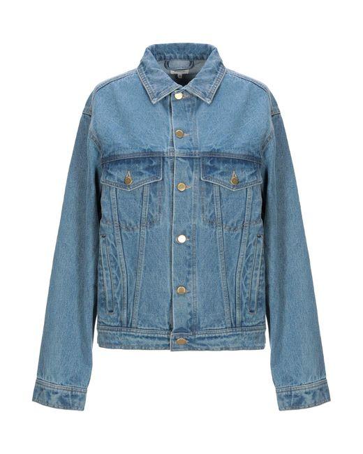 Manteau en jean Manoush en coloris Blue