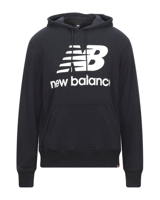 Felpa di New Balance in Black da Uomo
