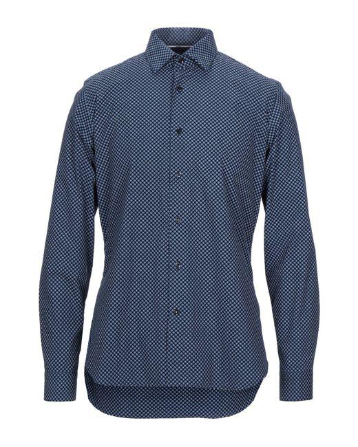 Emanuel Ungaro Hemd in Blue für Herren