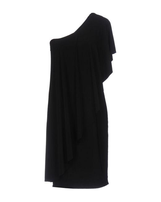 Kamalikulture - Black Short Dress - Lyst