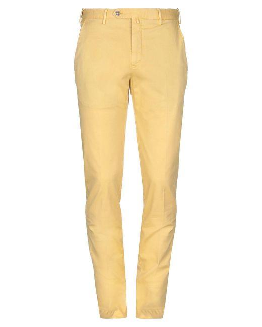 Pantalones PT Torino de hombre de color Yellow