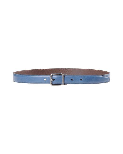 Dolce & Gabbana - Blue Belt for Men - Lyst
