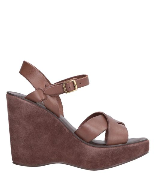 Kork-Ease Brown Sandals