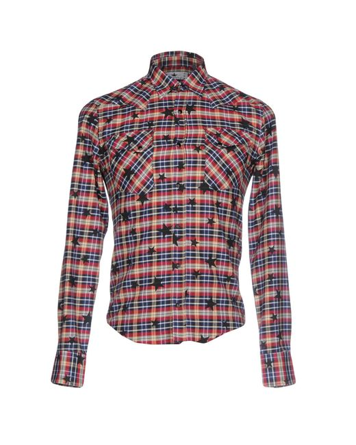 Macchia J - Blue Shirts for Men - Lyst