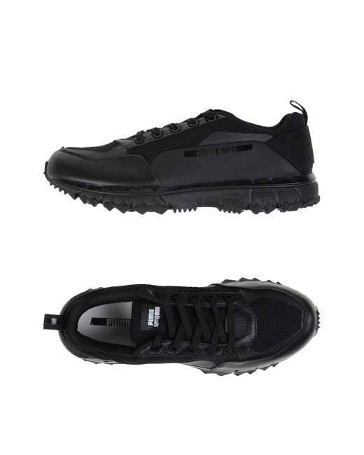 Alexander McQueen X Puma | Black Low-tops & Sneakers for Men | Lyst