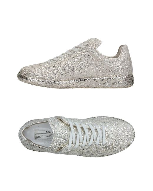 Maison Margiela Gray Low-tops & Sneakers