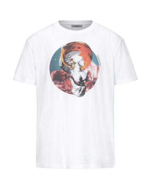 Camiseta Valentino de hombre de color White