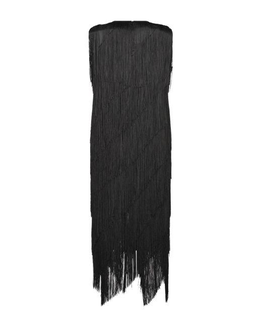 Minivestido Erika Cavallini Semi Couture de color Black
