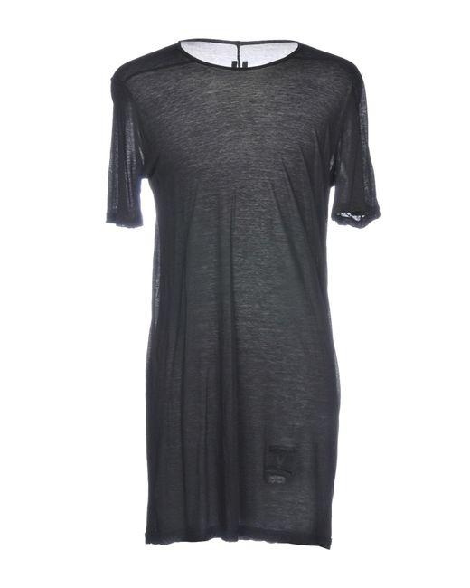 DRKSHDW by Rick Owens - Black T-shirt for Men - Lyst
