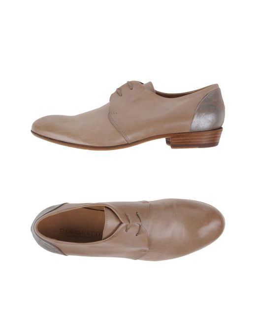 Pantanetti Natural Lace-up Shoe