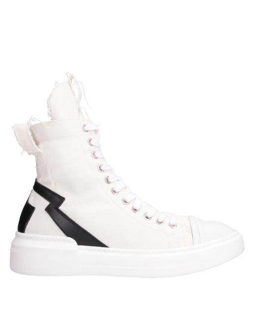 Savio Barbato White High-tops & Sneakers for men