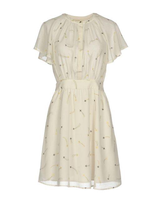 Sessun - White Short Dress - Lyst