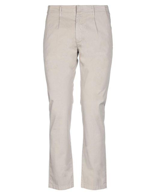 Pantalone di 2W2M in Natural da Uomo