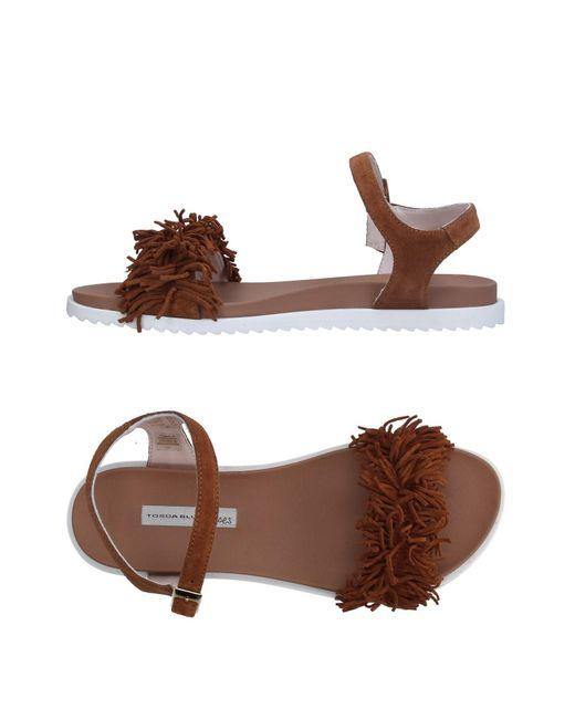 Tosca Blu | Brown Sandals | Lyst
