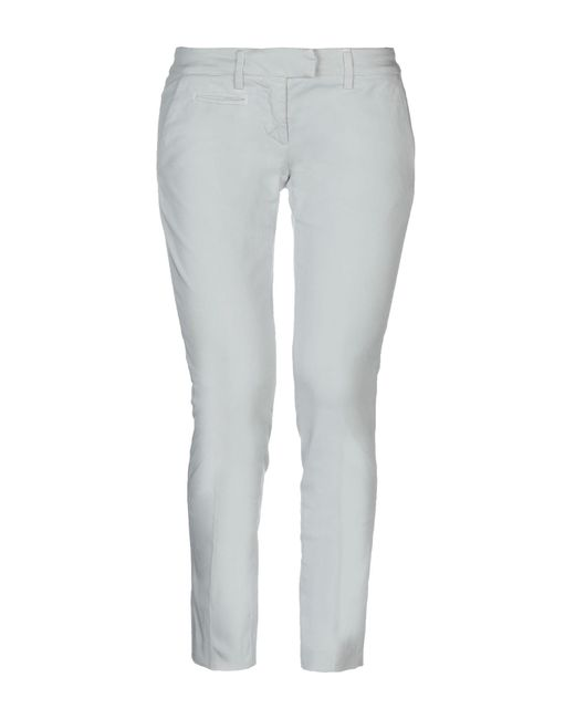 Dondup - Gray Casual Trouser - Lyst