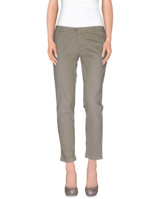 Jfour - Natural Casual Pants - Lyst