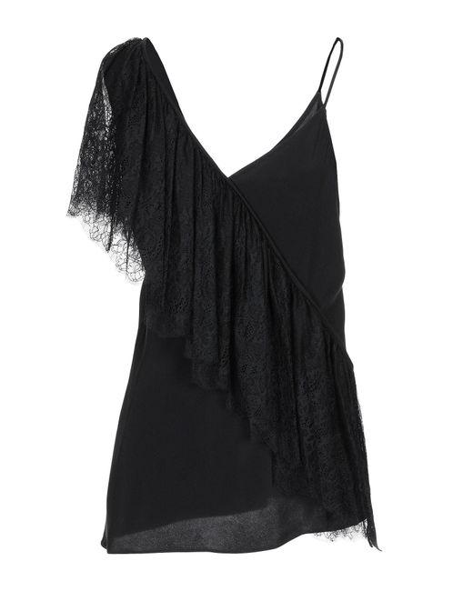 Top Diane von Furstenberg en coloris Black