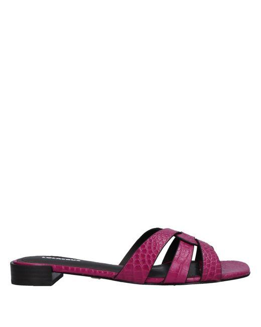 Lola Cruz Multicolor Sandals