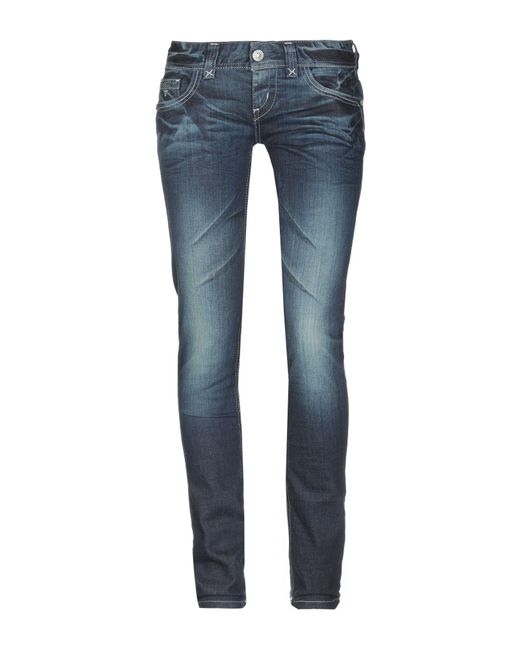 Pantalon en jean Guess en coloris Blue