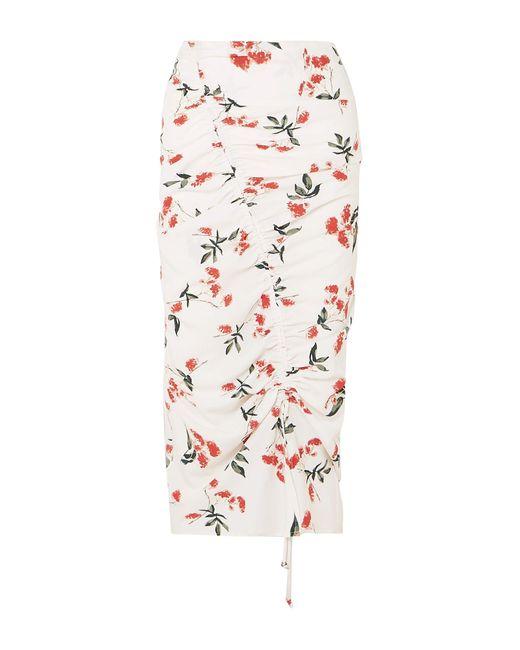 The Line By K White 3/4 Length Skirt