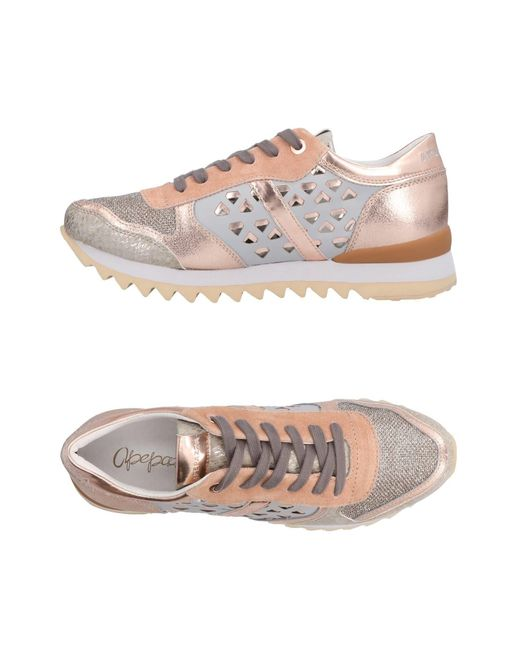 Apepazza - Pink Low-tops & Sneakers - Lyst