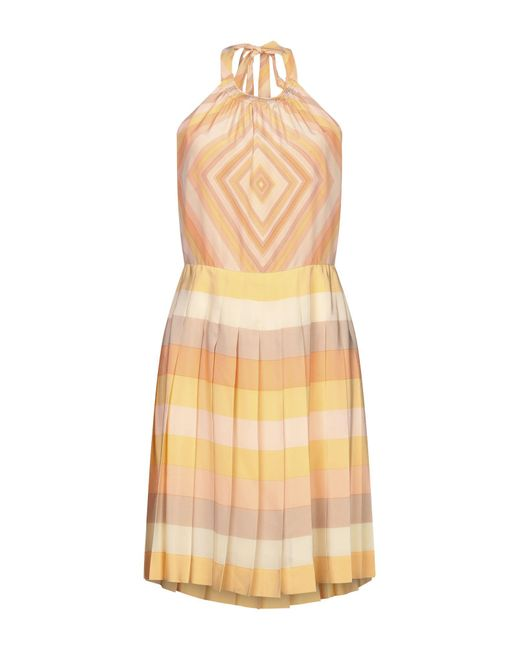 Valentino Orange Short Dress