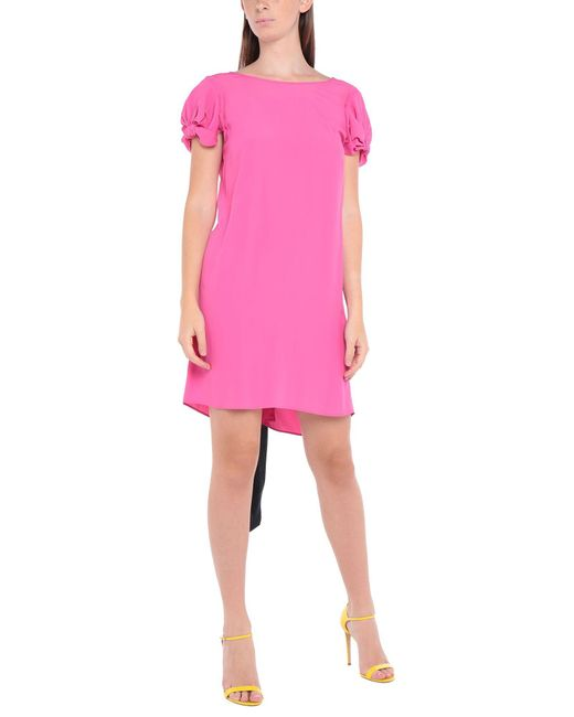 Vestito corto di N°21 in Pink