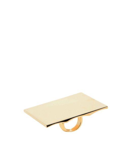 Maison Margiela - Metallic Ring - Lyst