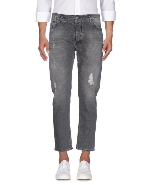 Low Brand - Gray Denim Pants for Men - Lyst