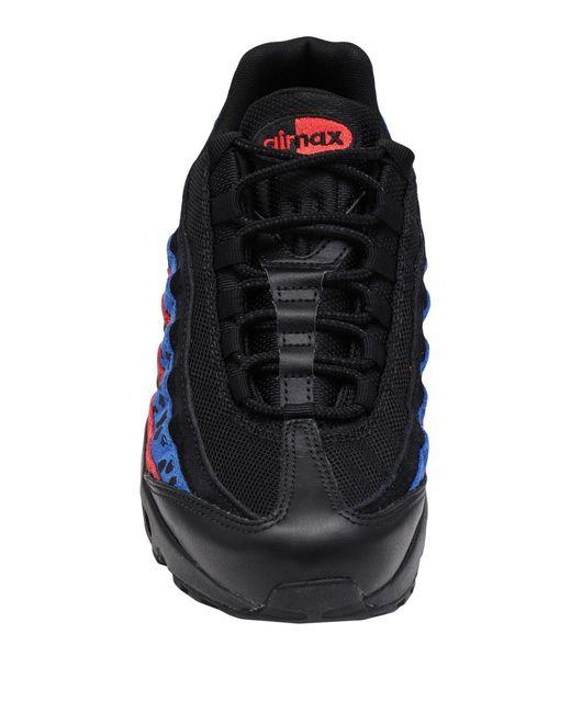 Nike Black Low Sneakers & Tennisschuhe