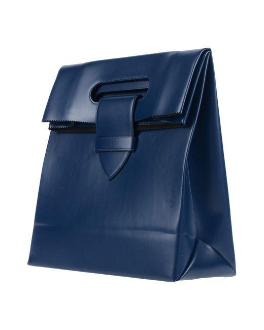 Golden Goose Deluxe Brand Blue Backpack
