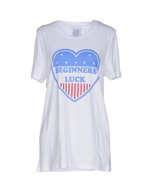Zoe Karssen | White T-shirt | Lyst