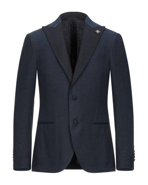 Lardini Blue Suit Jacket for men