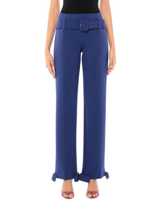 Prada Pantalones de mujer de color azul
