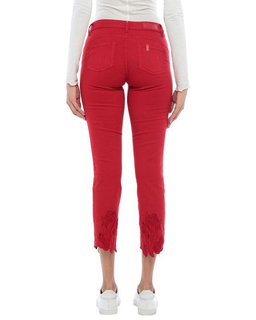Pantalone di Liu Jo in Red