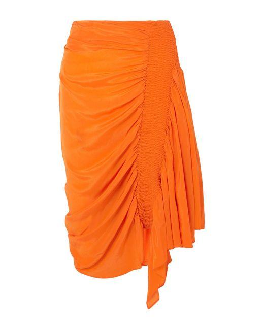 Falda corta Preen Line de color Orange