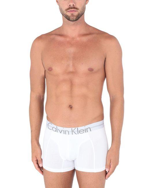 Caleçon Calvin Klein pour homme en coloris White
