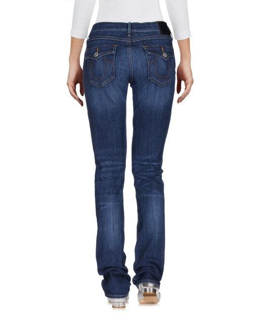 True Religion Blue Denim Pants