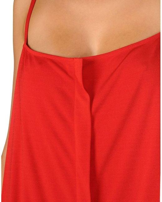 Maison Margiela Red Knee-length Dress