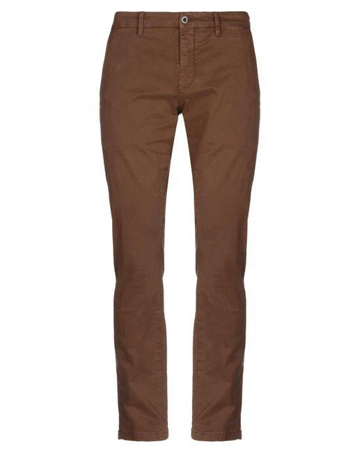 Pantalones Siviglia de hombre de color Brown
