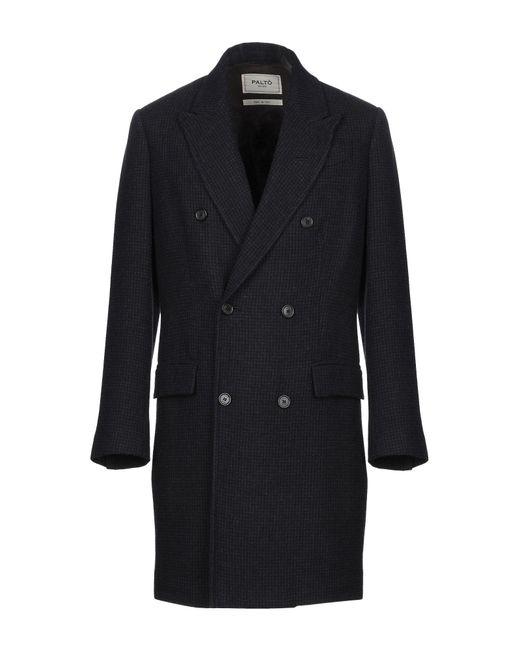 Paltò Blue Coat for men